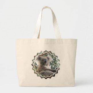 Koala Bear Facts Canvas Bag