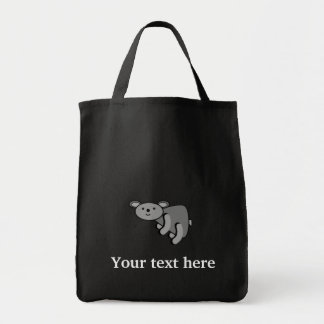 Koala bear grocery tote bag