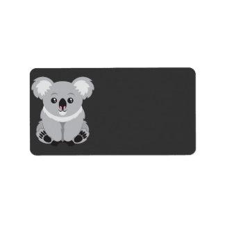 Koala Bear Label