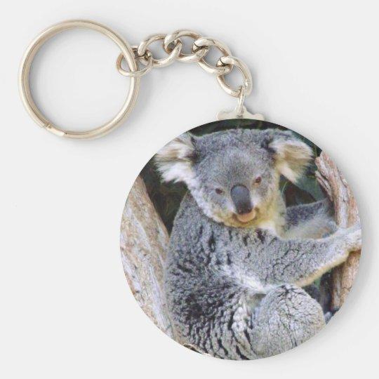 Koala Bear Love_ Key Ring