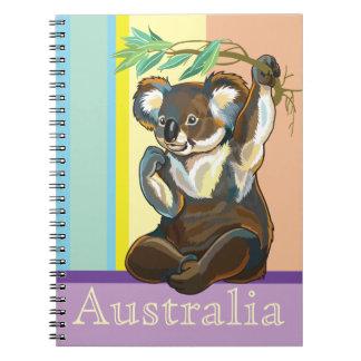 koala bear notebook