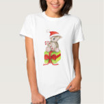Koala bear on a Christmas gift t-shirt