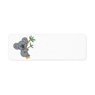 Koala Bear Return Address Label