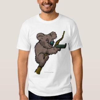 Koala Bear Sniper Tee Shirts