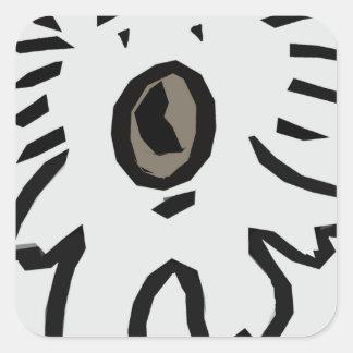 Koala Bear Square Sticker