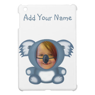 Koala Bear Suit  Funny Photo Template iPad Mini Covers