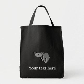Koala bear canvas bag