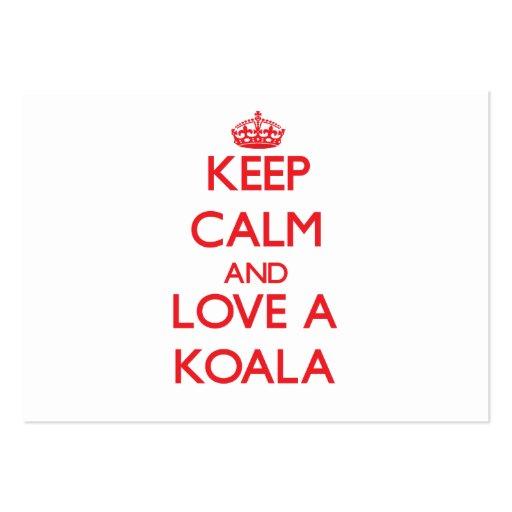 Koala Business Card Template