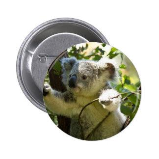 Koala cutie 6 cm round badge