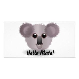 Koala Design Photo Card