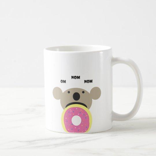 Koala Doughnut Diet Coffee Mug
