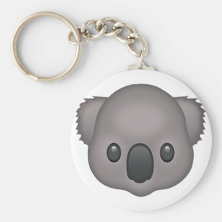 Koala Emoji Key Ring