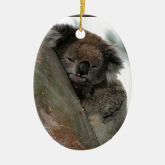 Koala - Energy Conservationist Extraordinaire! Christmas Ornament