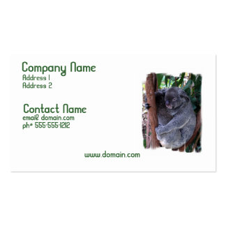 Koala Family Business Card