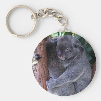 Koala Family Keychain