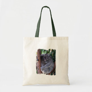 Koala Family Small Canvas Bag