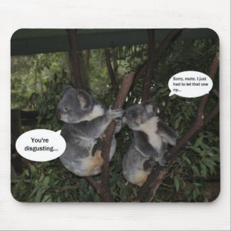 Koala fun mouse mat