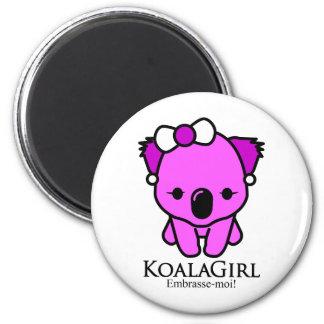 Koala Girl Magnet