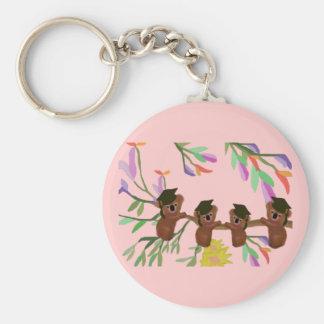 Koala Grad Kids Basic Round Button Key Ring