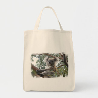 Koala Grocery Tote Bag