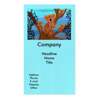 Koala Habitat Pack Of Standard Business Cards