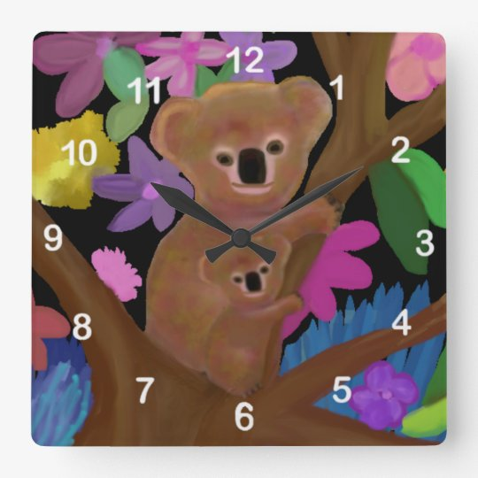 Koala Habitat Clock