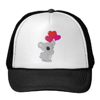 Koala Heart Balloons Cap