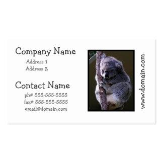 Koala in Tree Business Cards
