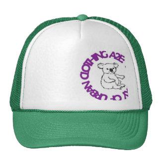 koala logo trucker hat