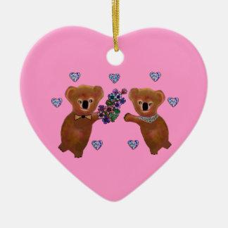 Koala Love Ornament