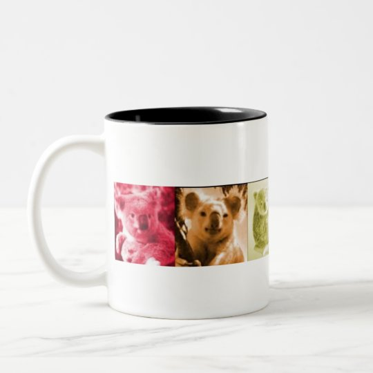 Koala Love Two-Tone Coffee Mug