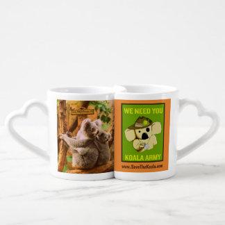 Koala Lovers mugs
