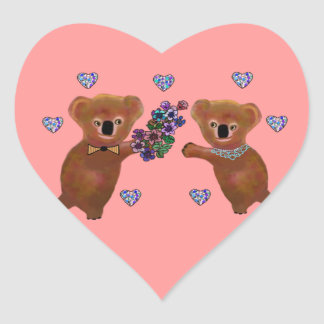Koala Luv You Sticker