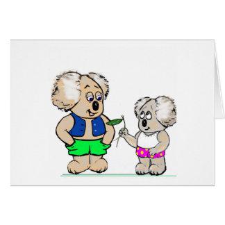 Koala Mates Greeting Card