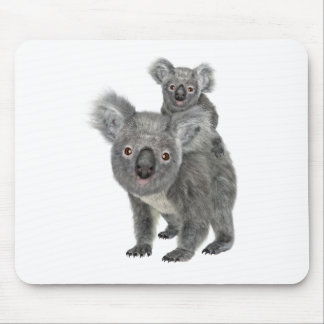 Koala Mother and Child Mouse Mat