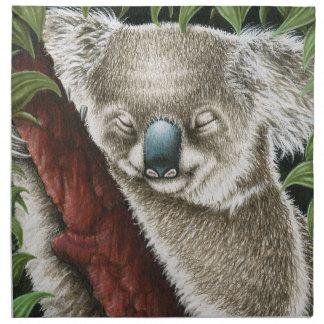 Koala Munching a Leaf American MoJo Napkin