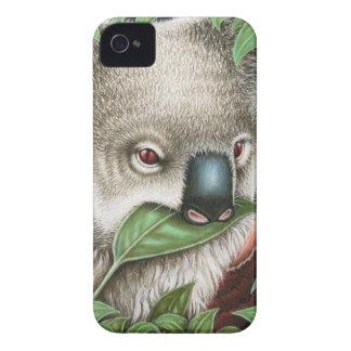 Koala Munching a Leaf Case-Mate Case iPhone 4 Cases