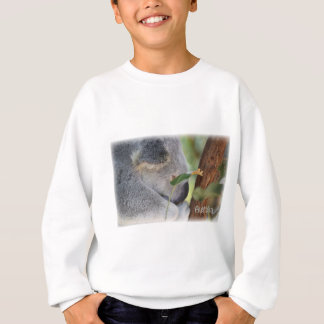 Koala on Eucalyptus Tree in Australia Sweatshirt