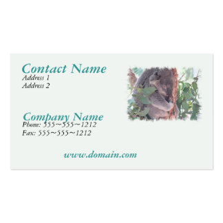 Koala Photo Busines Card Double-Sided Standard Business Cards (Pack Of 100)
