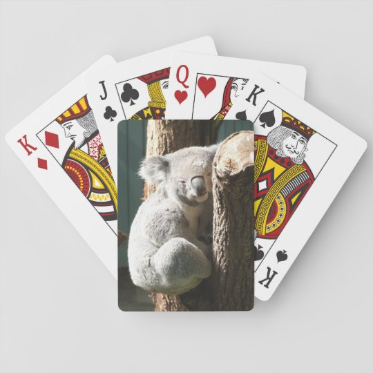 Koala Playing Cards