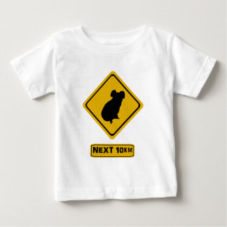 koala road sign baby T-Shirt