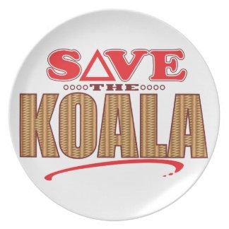 Koala Save Plate