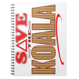 Koala Save Spiral Notebook