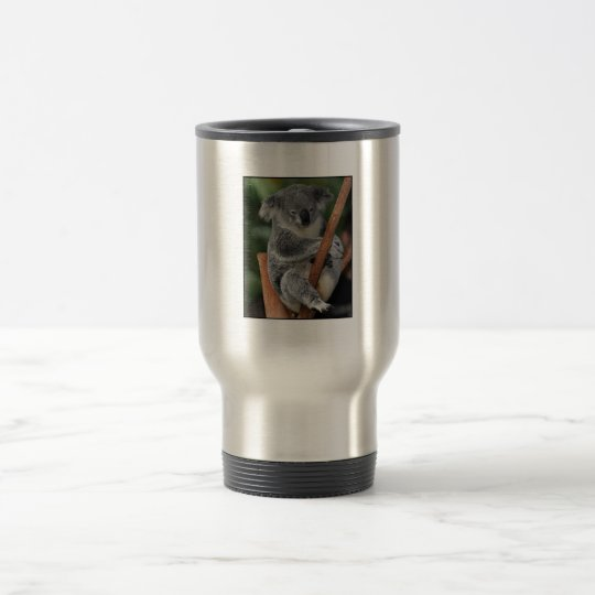 koala stainless steel travel mug