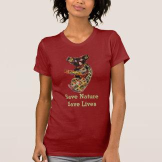 Koala Wild Animal Aboriginal Art T-shirt
