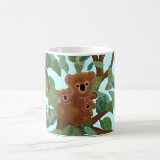 Koalas in the Eucalyptus Coffee Mug