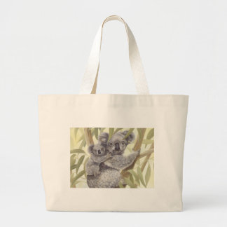 Koalas Large Tote Bag