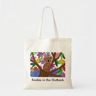 Koalas Outback Budget Tote Bag
