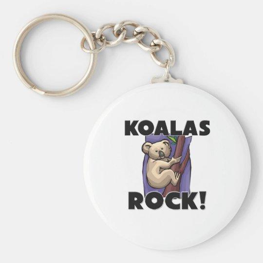Koalas Rock Key Ring
