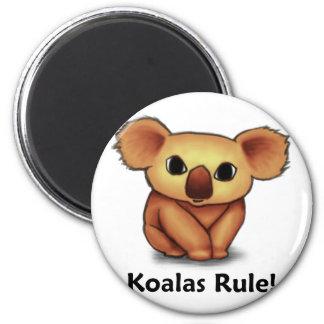 Koalas Rule! Magnet